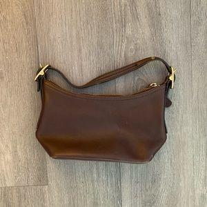 Coach Mini Brown Leather Handbag